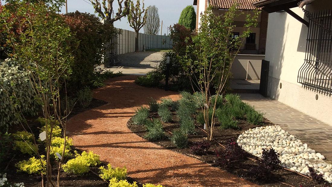 giardino villa finito