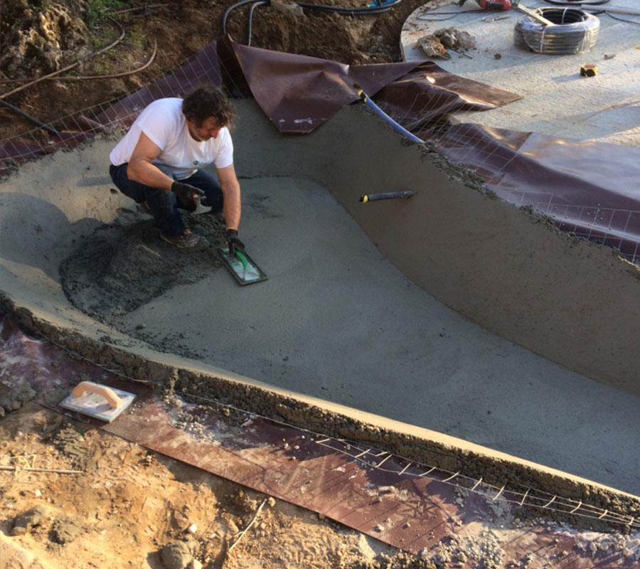 lavori in corso laghetto